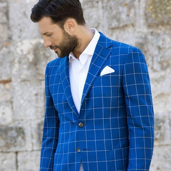 tailored italian wool suit