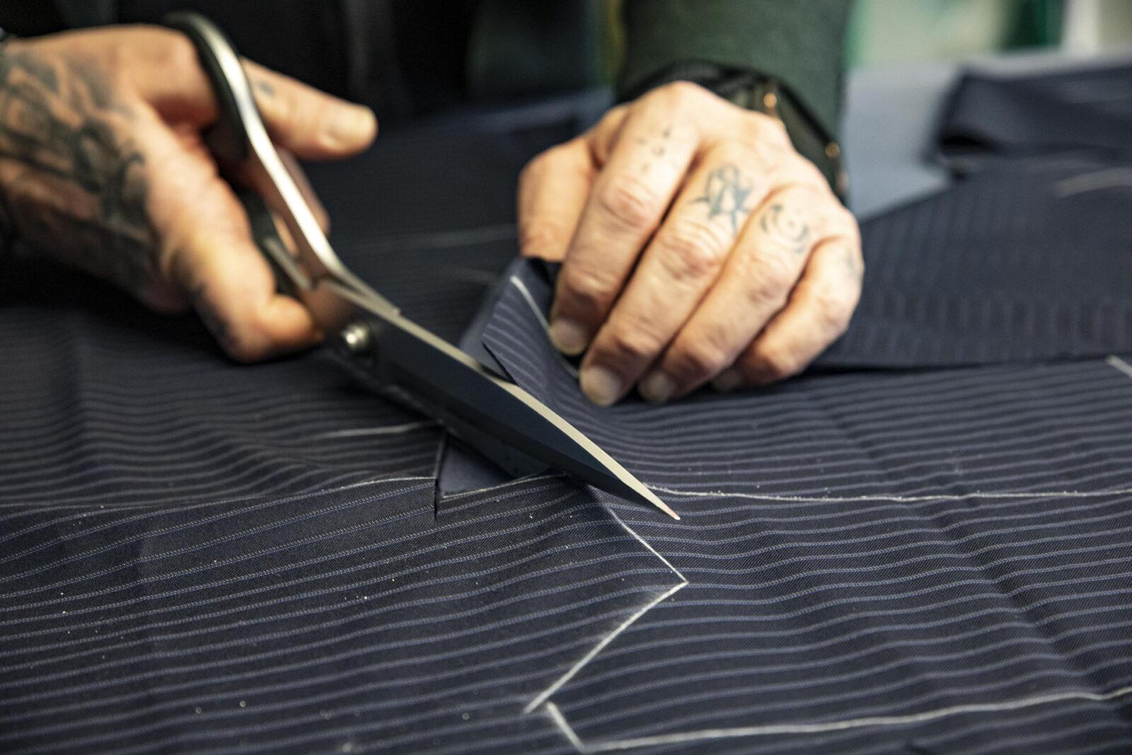 tailored italian suit